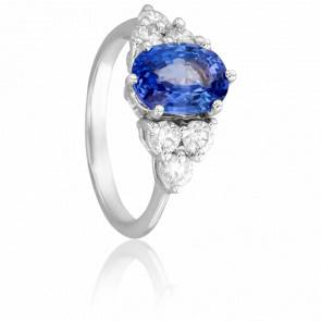 Bague Verstovia, Saphir et Diamants