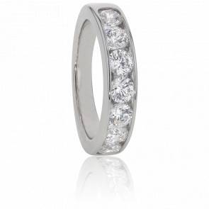 Alliance Anténor, Diamants 1,60 ct & Or Blanc 18K