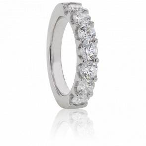 Alliance Audley Or Blanc et Diamants G/SI2 1,60ct