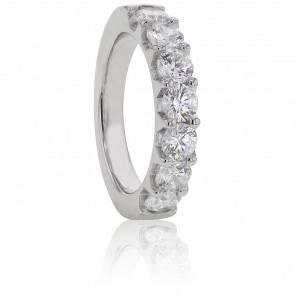 Alliance Audley Or Blanc et Diamants G/SI2 2,10cts