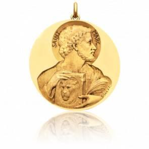 Médaille Saint Marc Or Jaune 18K