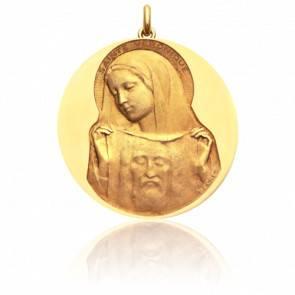 Médaille Sainte Véronique Or Jaune 18K