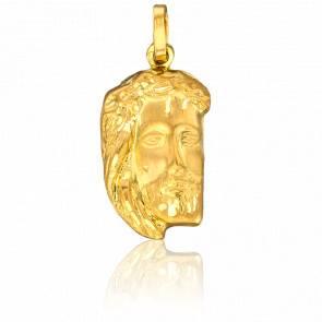 Médaille Le Visage du Christ Or Jaune 18K