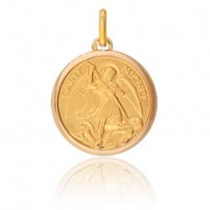 Médaille Saint Michel Or Jaune