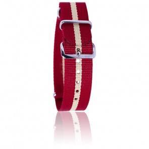 Bracelet Rouge/beige