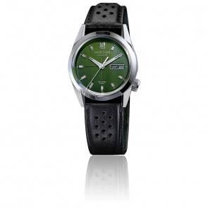 AM89 automatique Evergreen bracelet Calcutta Marron Perforé