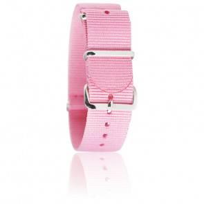 Bracelet Nylon Rose 20mm