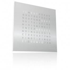 Qlocktwo Large : Stainless Steel