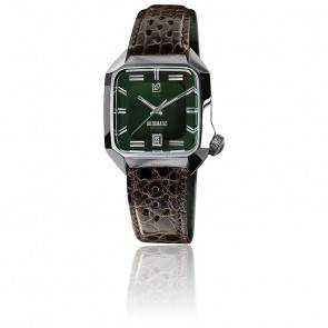 Montre AM2 Automatic Grall Buffle Brown Perforated AM2AGLALL6