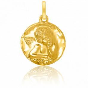 Médaille Angelot Rêveur Or Jaune 18K