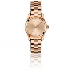 T-Wave Pink Gold - T112.210.33.456.00