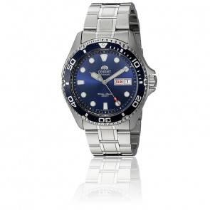 Montre Ray II Cadran Bleu Acier Gris AA02005D