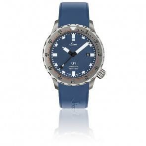 Montre Homme Tegiment Bracelet Silicone Bleu U1 B