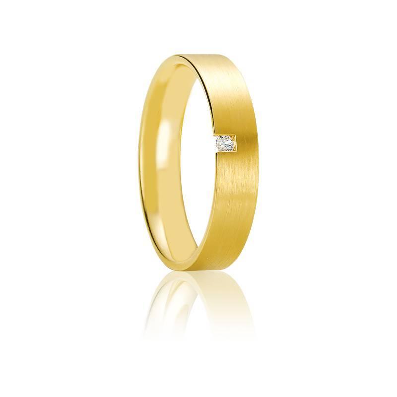 Alliance Glyfáda or jaune 18K & diamant