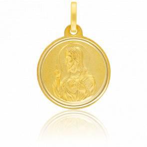 Médaille Christ de Profil Or Jaune 18K
