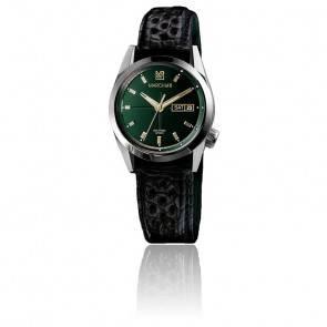 Montre AM89 Automatic Private Emerald Alligator Perforé Noir AM89PVEMALL2