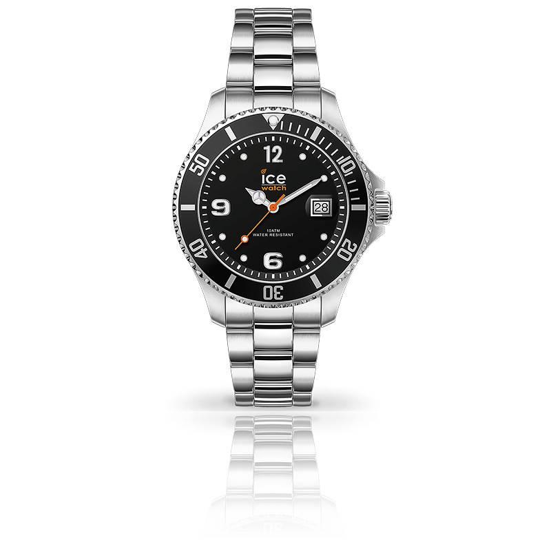 Montre ICE Steel Black Silver 017323