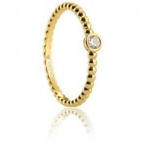 Alliance Morella or jaune 18K & diamant