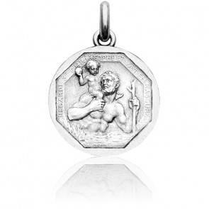 Médaille Saint Christophe Argent
