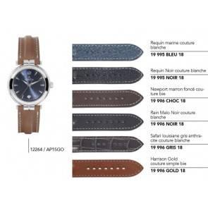 Bracelets en cuir pour montre série 12264 / ... 12266 / ... 12268 / ...
