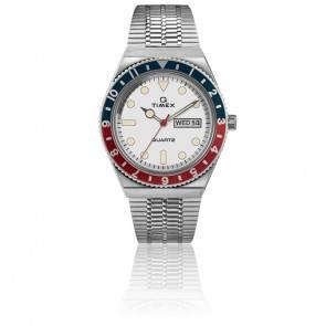 Montre Q Timex Reissue Bleu/Rouge TW2U61200