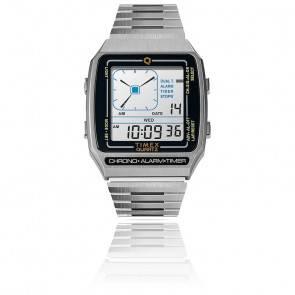 Montre Q Timex Reissue Digital LCA TW2U72400ZV