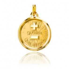 Médaille d'Amour Or Jaune 18K