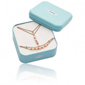 Coffret Collier et Bracelet Rose Beads JF03529791