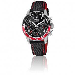 Montre Junior noir chronographe 18581/5