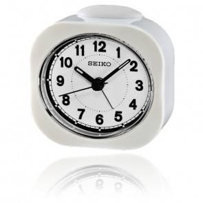 Réveil de poche blanc QHE121WN