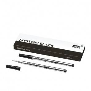Stylo 2 recharges pour rollerball (M) Mystery Black MB128231