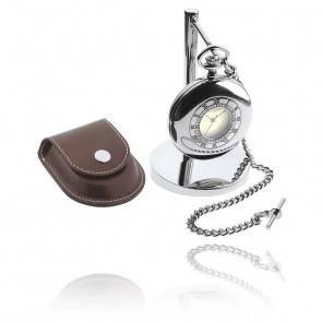 Horloge de bureau / Montre de poche D24