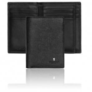 Portefeuille noir Flap Chronobike FLF0117/A