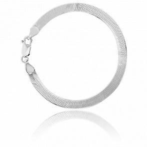Bracelet Argent Maille Miroir