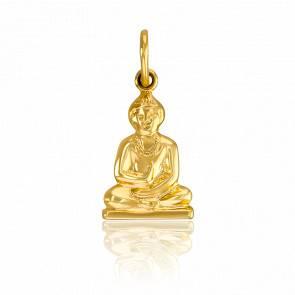 Pendentif Shiva or jaune 9k