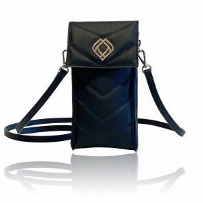 Étui téléphone - Phonebag Cactus leather Black