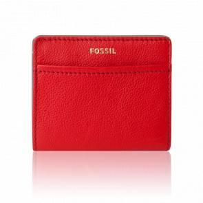 Porte-cartes Tessa rouge 2 plis SWL1688646