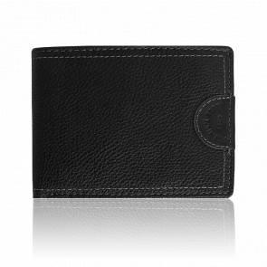 Portefeuille en cuir noir Hardy ML4388001