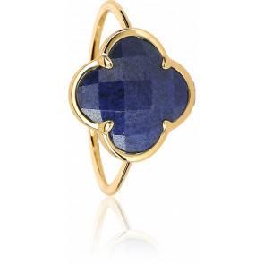 Bague Corset Victoria Lapis Lazuli Or Jaune