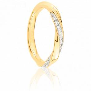 Alliance Pissarro 2 ors 9 carats et diamants
